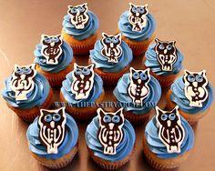 Owl Cupcakes! https://www.facebook.com/thepastryarch