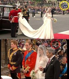 The Doctor went to the royal wedding!! WHAT. WHAT.. ALL OF MY WHAT.||~ I really wish the BBC would actually pull stuff like this :P