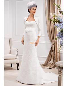 Obdélníkový Jaro Přírodní Svatební šaty 2014. Jednoduché Svatební šaty 274c664c6f
