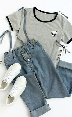 coffee date outfit Girls Fashion Clothes, Teen Fashion Outfits, Cute Fashion, Look Fashion, Outfits For Teens, Korean Fashion, Cute Comfy Outfits, Pretty Outfits, Stylish Outfits