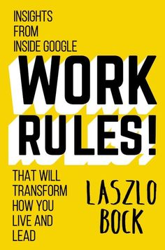 "Bock takes readers behind the scenes & explores the management strategies that have helped make Google exceptional, from differentiating between employee development and performance and ""paying unfairly."