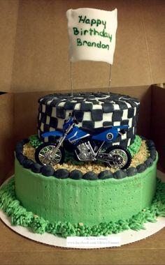 Dirtbike Cake by Oh Sew Yummy