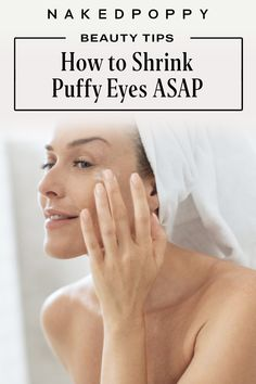 We are sharing our best puffy eye remedies so you can get rid of puffy eyes ASAP. Is it just us, or do puffy eyes and under-eye bags have a way of showing up when they're least welcome? While they're certainly not the end of the world, puffy eyes can be a cue to take care of yourself. We are sharing why you get puffy eyes, how to get rid of them, remedies for puffy eyes and our cheatsheet to all things puffy eyes | clean skincare | clean beauty #cleanbeauty #beautytips Under Eye Bags, Puffy Eyes, Clean Beauty, How To Get Rid, Beauty Hacks, Remedies, Skin Care, Tips, Beauty Tricks