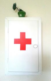 First Aid Cabinet.