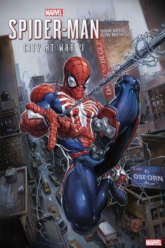 Marvel Comics Spider-Man: City at War 2019 Spiderman Kunst, Comics Spiderman, Venom Spiderman, Batman, Marvel Comics Art, Ms Marvel, Marvel Heroes, Captain Marvel, Amazing Spiderman