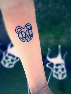 Radiohead Tattoo bear arm forearm
