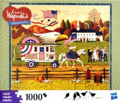 ALL PUZZLES ON SALE for a limited time -some great reductions!  Buy Now!  CHARLES WYSOCKI's AMERICANA PUZZLE So Proudly We Hail 1000 Piece Hasbro,http://www.amazon.com/dp/B002TEMZYY/ref=cm_sw_r_pi_dp_dd8ysb0V8C1FCMXT