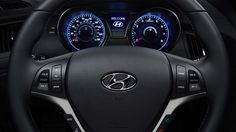 2015 GENESIS COUPE STEERING-WHEEL-MOUNTED CONTROLS FOR AUDIO, CRUISE AND PHONE