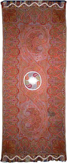 TRISHULA SHAWL, India (Kashmir, Dogra period), 1875.