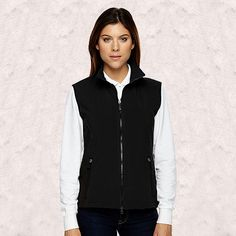 Ash City-North End-Ladies Soft Shell Performance Vest-78050