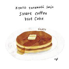 おうちでホットケーキもいいけど、やっぱり食べたくなるなるスマートのホットケーキ。 #food#eat