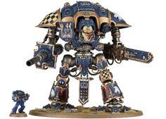 Knight v Space Marine size comparison
