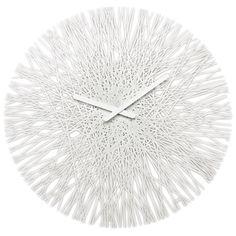 "Koziol Silk 17.64"" Wall Clock | Wayfair"