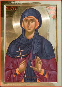 Света Петка Byzantine Icons, Byzantine Art, Orthodox Icons, Religious Art, Cathedral, Saints, Religion, Spirituality, Artwork