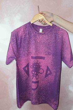 heder / Tričko _T-shirt_batik_M_uni_mauve Uni, Mauve, T Shirts For Women, Mens Tops, Fashion, Moda, Fashion Styles, Fashion Illustrations