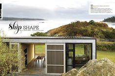 Lopez Island Cabin: Gray Magazine - Eggleston|Farkas Architects