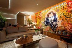 Grafite em sala