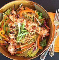 Thai Peanut Noodle Salad