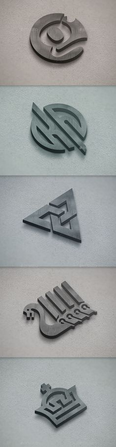 Realistic 3D Logo Mockup - Logo Product Mock-Ups