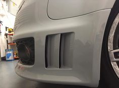 Perfect vents on the Audi RS4 Avant we vinyl wrapped Tele Grey, the closest colour to Audi's sort after Nardo Grey