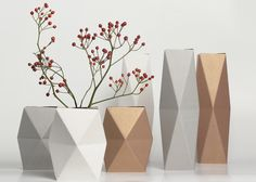 Folding vase by snug.studio