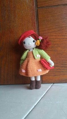 My amigurumi doll