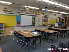 Bright, colorful 2nd grade classroom!