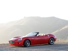 N2A Anteros XTM Roadster (2007) by California based coachbuilding company, Anteros under the brand 'n2a Motors' (No 2 Alike), drawing inspiration and style from classic '60s sports cars and incorporating the technology of today, built on the Corvette C6. coachbuild.com