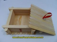 Craft Stick Crafts, Crafts To Make, Diy Crafts, Popsicle Sticks, Hobbies And Crafts, Popsicles, Plastic Canvas, Quilling, Projects To Try