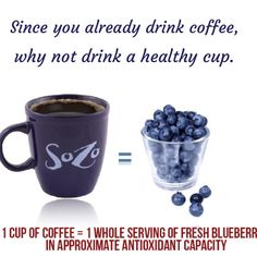 Drink SOZO! The coffee that loves you back #healthycoffee #antioxidants #coffee  www.SozoGlobal.com/sozoberry
