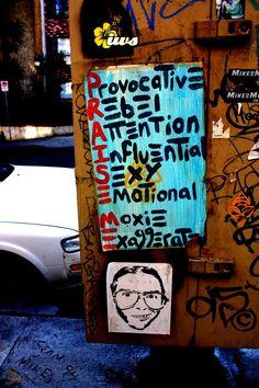 LA Los Angeles Graffiti Hollywood Photography