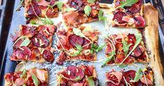 """Pizza de jamón, higos, gongonzola y rúcula    Esta pizza la preparé hace ya un par de semanas, en la que para mi fue """"la semana ..."""