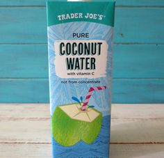 Trader Joe's Coconut Water review, only $1.99