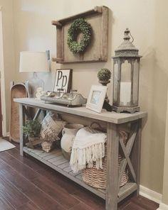 52 Awesome Rustic Farmhouse Living Room Decor Ideas