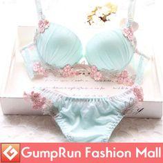 Online Shop New 2014 Solid Vs Women Bra Sets Sexy Plus Size D Cup Lingerie Suit Embroidery Bra And Panties Women Underwear Push Up Bra Set|Aliexpress Mobile
