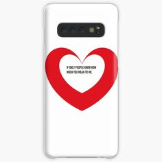 'Valentine day heart gifts' Case/Skin for Samsung Galaxy by CthroughMYeyes