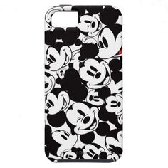 Mickey Pattern 6 iPhone 5 Case #Disney #MickeyMouse #iPhone5Cases $44.95