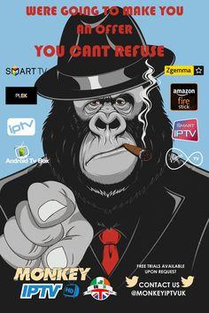 11 Best Monkey iptv uk-ie images in 2018 | Monkey, Art, Samsung smart tv