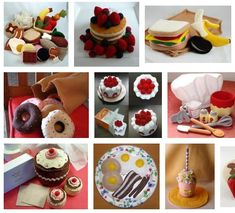 Felt Food Google Image Search   Free Tutorials To Make Your Own Kids Toys For Christmas