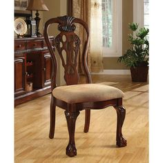 Furniture of America Harper Cherry Dining Side Chair (Set of 2) - Overstock™ Shopping - Great Deals on Furniture of America Dining Chairs