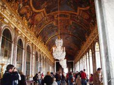 Versailles -  Grandi appartamenti del Re - galleria degli specchi