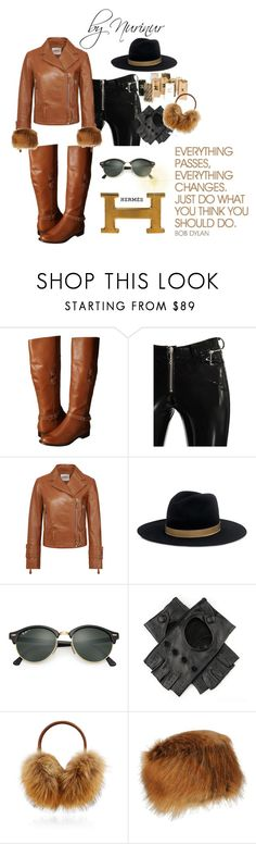 Sophisticated sport by nurinur on Polyvore featuring Tod's, Alyx, Sperry, Hermès, Janessa Leone, Black, Bogner, Ray-Ban and Hard Graft