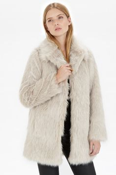 d0a823ff7f1 Femme Faux Fur Coat Faux Fur Jacket