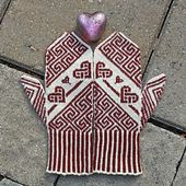 Ravelry: Celtic Inspired Mittens pattern by Janet Welsh Knits