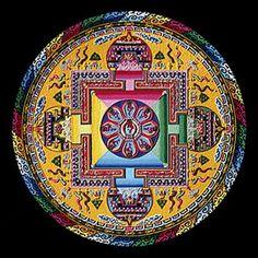 Tibet - sand painting
