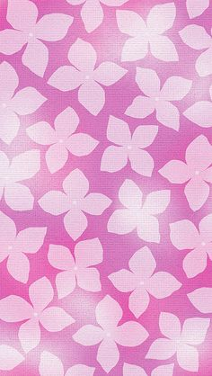 Pink Hydrangea iPhone Wallpaper