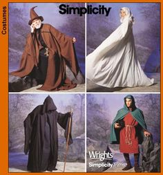 I would buy a black choir robe and make a hood to complete the outfit.  Also, pattern books at fabric stores always have patterns listed in them.  You could look online to get an idea of the style you want to do.  Good luck. Here's one I found.