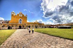 Izamal, ciudad colonial del estado de Yucatán,