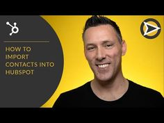 How To Import Contacts Into HubSpot. - YouTube Inbound Marketing, Digital Marketing, Free Email Signature, Email Signatures, Future Videos, Sales Process, Email Templates, Whats New, Being Used