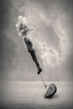 Reality Rearranged: Black and White Surrealist Photography by Tommy Ingberg - fotografie Surrealism Photography, Conceptual Photography, White Photography, Fine Art Photography, Photography Office, Fantasy Photography, Photography Illustration, Exposure Photography, Abstract Photography